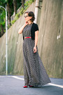 Maxi-dress-makemechic-dress-red-target-pumps
