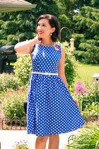 polka dot shein dress