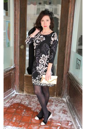 White House Black Market dress - Fabindia purse