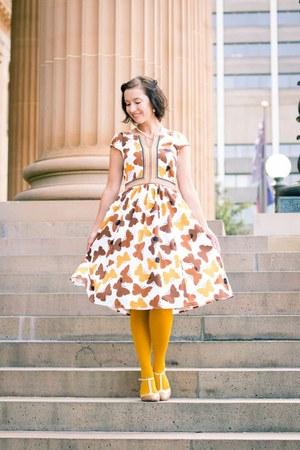 butterfly print eShakti dress