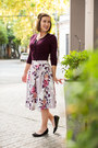 Midi-review-australia-skirt-cropped-review-australia-cardigan