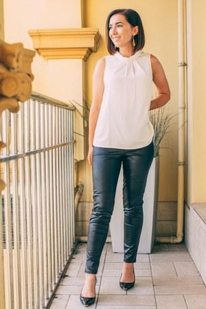 faux leather Femme Luxe leggings