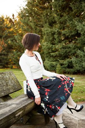 floral print Fashionmia dress - modcloth heels