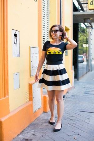 star wars Radish Apparel shirt - striped modcloth skirt