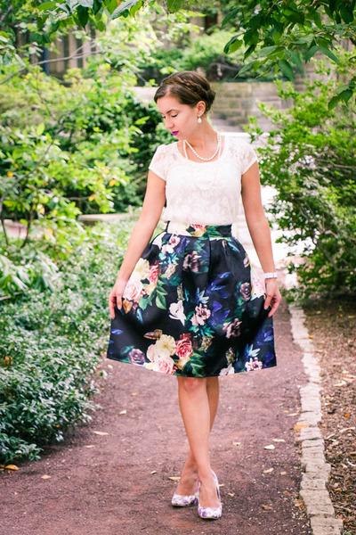 Sheinside-skirt-machi-footwear-heels