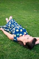 lemon print Clema W dress