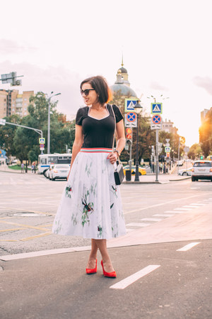 midi ted baker skirt
