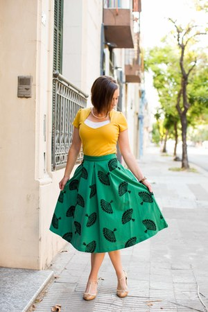 midi Tatyana Boutique skirt - retro modcloth heels