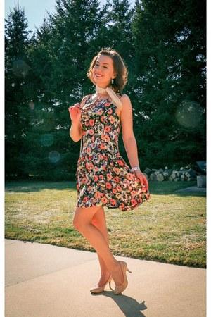 floral thredup dress
