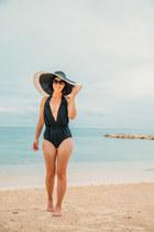 one piece unique vintage swimwear