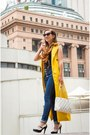 High-waisted-modcloth-jeans-quilted-kate-spade-bag-trench-coat-shein-vest