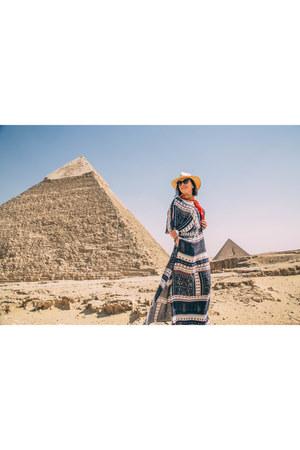 maxi Amazon dress
