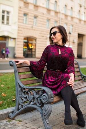 velvet modcloth dress