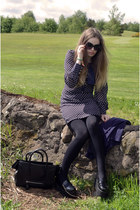 navy Max C London dress - black Ebay bag - black new york sunglasses