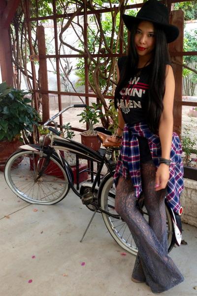 Dolce Vita boots - BDG shirt - Somedays Lovin pants - Chaser t-shirt