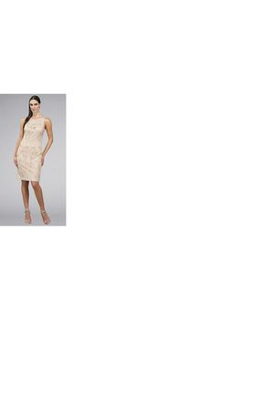 beige sue wong dress