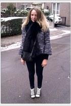 Zara coat - Zara scarf