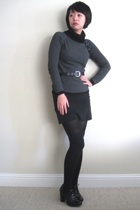 American Apparel skirt - forever 21 sweater - Aldo shoes