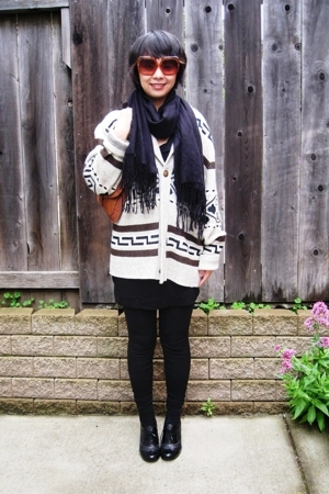 Urban Outfitters sweater - Steve Madden purse