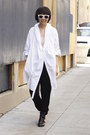 Black-chictopia-shop-shoes-white-oversized-saxony-shirt