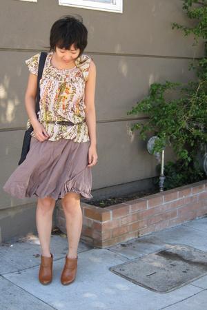 free people top - skirt