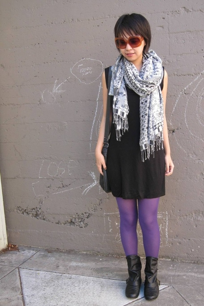 H&M tights - Steve Madden shoes