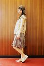 Gold-kmart-shirt-gold-shoes-beige-free-people-top-brown-target-skirt
