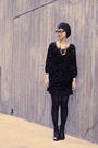 Black-juicy-couture-dress