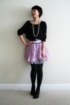 free people skirt - American Apparel top - Arden B necklace - Aldo shoes