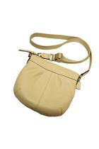 beige coach bag
