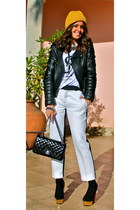 FABSHOP shirt - Chanel bag - Zara pants