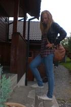 Bik Bok jeans - Bik Bok shirt - Bik Bok purse - BYoung jacket