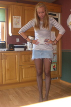H&M sweater - Callilope skirt - Bik Bok purse