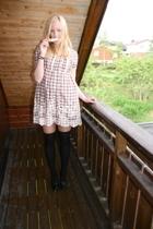 Zara dress - H&M stockings - Din Sko shoes