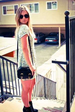 Forever 21 dress - asoscom bag - asoscom sunglasses