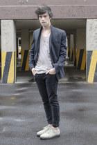 asos jeans - asos blazer - Kr3w sneakers - Zara t-shirt