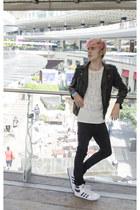 H&M jacket - asos jeans - H&M t-shirt - Adidas sneakers - H&M ring