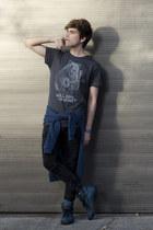 Dirty Velvet sweatshirt - pull&bear jeans - Dirty Velvet t-shirt - Aldo sneakers
