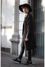 H-m-coat-dr-denim-jeans-forever-21-hat-h-m-t-shirt-gourmet-sneakers