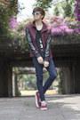 Asos-jeans-zara-jacket-jeepers-peepers-sunglasses-vans-sneakers