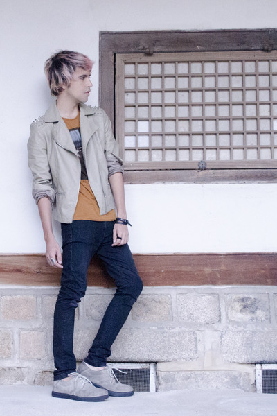Forever 21 jacket - H&M jeans - Kr3w sneakers - Zara t-shirt