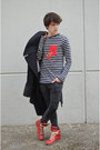H-m-jeans-maison-martin-margiela-for-h-m-coat-zara-t-shirt