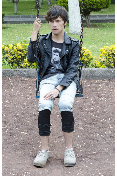 H&M jacket - asos leggings - H&M shorts - Zara t-shirt - Kr3w sneakers
