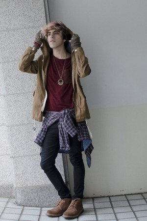 H&M jeans - Frank Wright shoes - H&M jacket - H&M shirt - Zara t-shirt