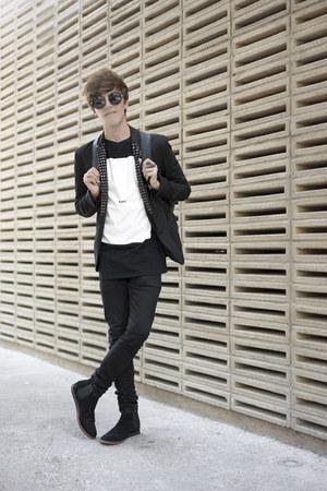 DressLink bag - Frank Wright boots - H&M jeans - Zara jacket