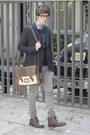 Paruno-boots-zara-jeans-asos-blazer-h-m-shirt-asos-bag-asos-glasses