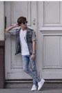 H-m-jeans-aldo-sunglasses-forever-21-vest-zara-t-shirt