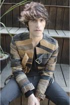 maison martin margiela jacket - Frank Wright boots - H&M jeans