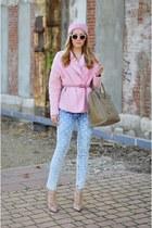 Zara jacket - Valentino shoes - Celine bag