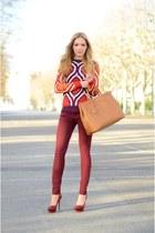 Glamorous sweater - J Brand jeans - Prada bag